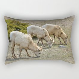 Grazing Herd Rectangular Pillow