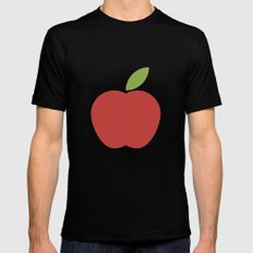 Apple 15 Mens Fitted Tee Black MEDIUM