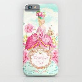 Marie Antoinette Let them Eat Cake iPhone Case