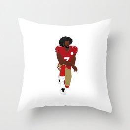 Colin Kaepernick Throw Pillow