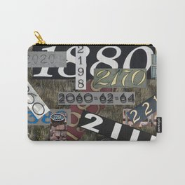House Numbers Carry-All Pouch