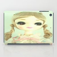 doll iPad Cases featuring DOLL  by Vintage  Cuteness