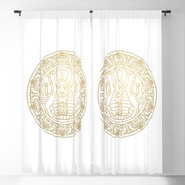 Anubis Mandala – Egypt Blackout Curtain