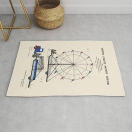 Ferris Wheel Patent Rug