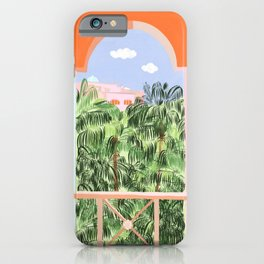 Morocco Illustration iPhone Case