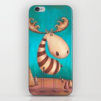 finn iPhone & iPod Skins featuring FINN by Caroletta