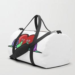 Snail Couple Duffle Bag