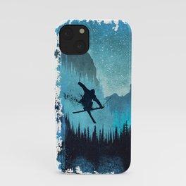 Ride Ski iPhone Case