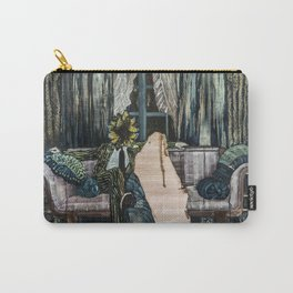 The King of Swords (Reversed) Carry-All Pouch