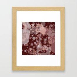 Splashes #01 Framed Art Print