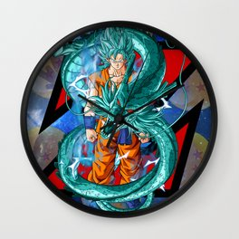 Dragon Ball Super Goku Super Saiyan Blue Wall Clock