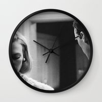 mad men Wall Clocks featuring MAD MEN by VAGABOND