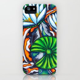 Coy Carp iPhone Case