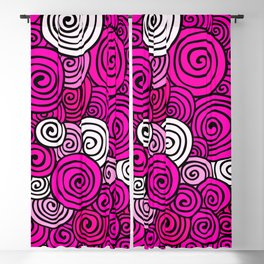 African Style No23, Pink dance Blackout Curtain