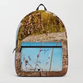 Empty Prairie Fencepost Backpack