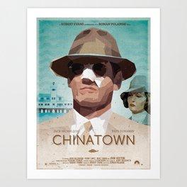 Chinatwon fanart movie poster Art Print