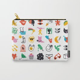 Relevant Symbols Carry-All Pouch
