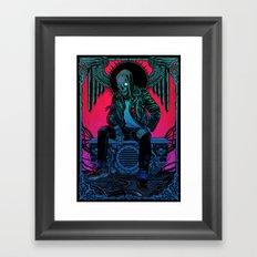 The Ghost of Dead Motor City Framed Art Print