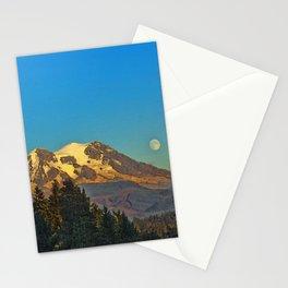October Moonrise Stationery Cards