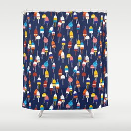 Oh Buoy! Shower Curtain
