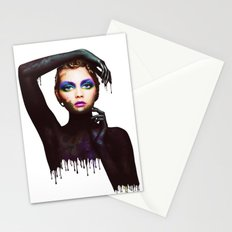 The Girl 3 Stationery Cards