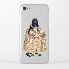 Solange Clear iPhone Case