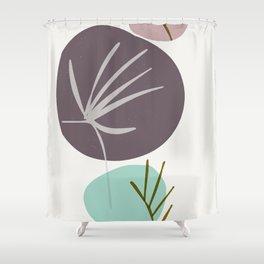 earth - zen garden Shower Curtain
