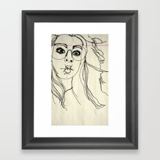 andme Framed Art Print