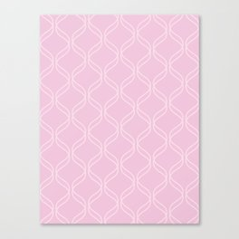 Double Helix - Light Pinks #303 Canvas Print