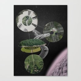 Chymical Station: Escape into Space Canvas Print