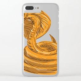 Cobra viper snake coi Clear iPhone Case