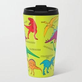 Dinosaur Print - Colors Travel Mug