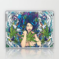 GANJA GIRL Laptop & iPad Skin
