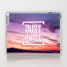 Go to the beach and... Just Chill! Laptop & iPad Skin