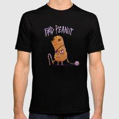 Bad Peanut Mens Fitted Tee MEDIUM Black