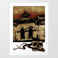 Bleak Art Print