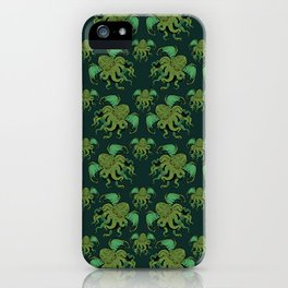 CTHULHU PATTERN iPhone Case