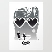 Lolita-Black Version (SK Films) Art Print