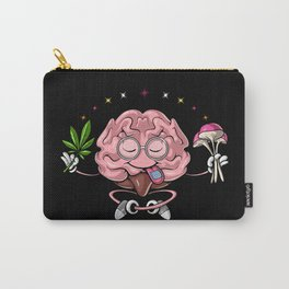 Trippy Psychedelic Brain Carry-All Pouch