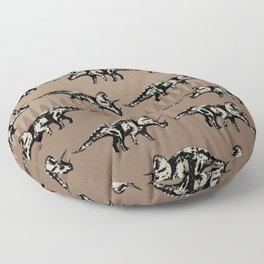 ChocoPaleo: Triceratops Floor Pillow