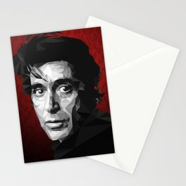 Al Pacino low poly Stationery Cards