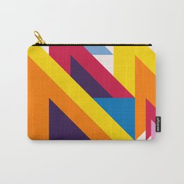 Abstract modern geometric background. Composition 20 Carry-All Pouch