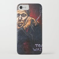 "tom waits iPhone & iPod Cases featuring ""Tom Waits"" by PMS Artwork"