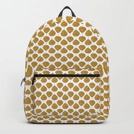 Goldenberry leaf pattern Backpack