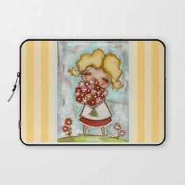 Smells like Spring - by Diane Duda Laptop Sleeve