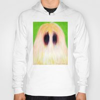 sasquatch Hoodies featuring Easter Sasquatch by Masha MouseBones Vereshchenko