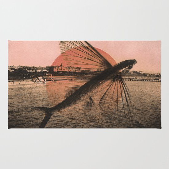 Flying Fish Rug