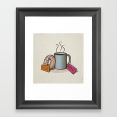 Breakfast in Wonderland Framed Art Print