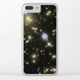 Galaxy Cluster MACSJ0717.5+3745 Clear iPhone Case