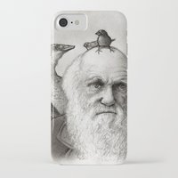 darwin iPhone & iPod Cases featuring Darwin by Doodle of Boredom